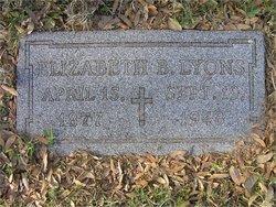Mary Elizabeth Lizzie <i>Browne</i> Lyons