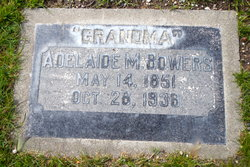 Adelaide M Bowers