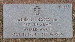 PFC Albert Baca, JR