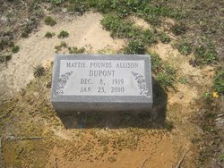 Mattie Ophelia <i>Pounds</i> DuPont