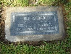 Carol D Blanchard
