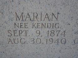 Marian <i>Kendig</i> Brady