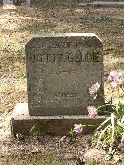 John Edings Geddie
