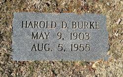 Harold D Burke