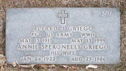 Alfred J Griego