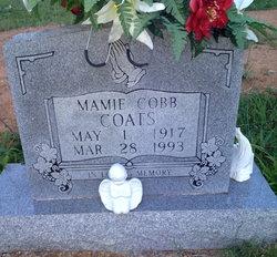 Mamie W <i>Cobb</i> Coats