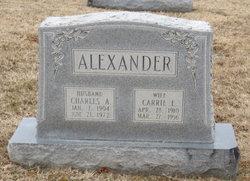 Charles A Alexander