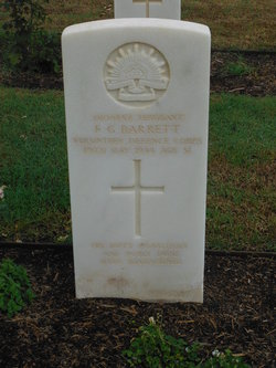 Sergeant Frank Gardner Barrett