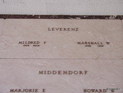 Marshall W. Leverenz