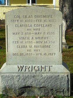 Clarissa <i>Copeland</i> Dinsmore