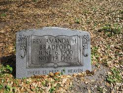 Rev Amanda H Bradford
