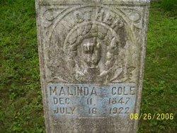 Malinda <i>Combs</i> Cole