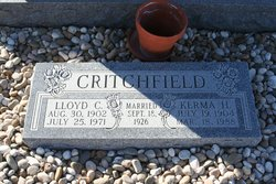 Kerma Gail <i>Hunter</i> Critchfield