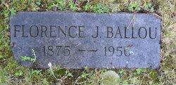 Florence Esther <i>Jillson</i> Ballou