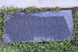 Alice Josephine <i>Palmer</i> Crosby