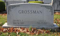 Sadye <i>Simon</i> Grossman