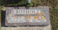 Irene M <i>Simmons</i> Bobholz