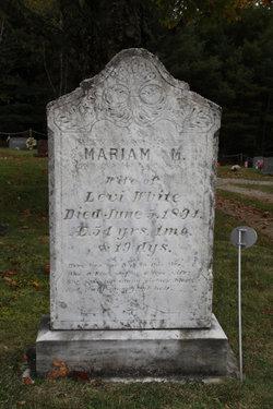 Mariam Mary <i>Feeney</i> White
