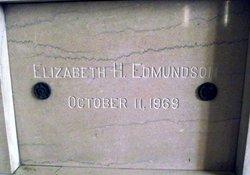Elizabeth H Edmundson