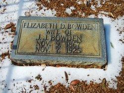 Elizabeth D. Bowden