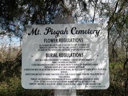 Old Mount Pisgah Cemetery