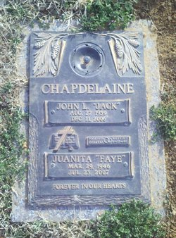 Juanita Faye Faye <i>Moore</i> Chapdelaine