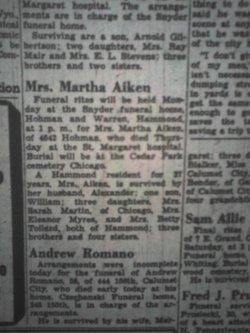 Martha <i>Smith</i> Aiken