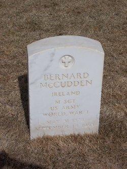 Bernard McCudden