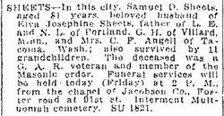Samuel D. Sheets