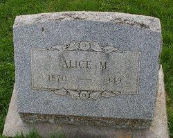 Alice M Auchenbach