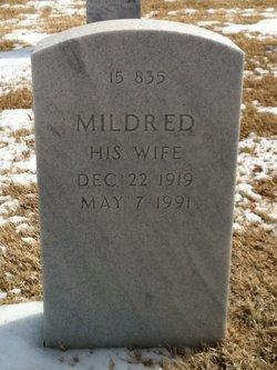 Mildred M <i>Barnett</i> Deppe
