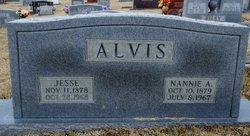 Nannie A. <i>Campbell</i> Alvis