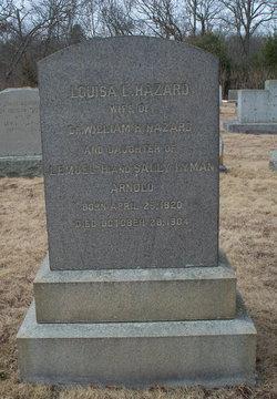 Louisa L. <i>Arnold</i> Hazard