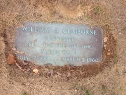William Anthony Bill Claiborne