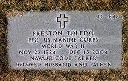 PFC Preston Toledo