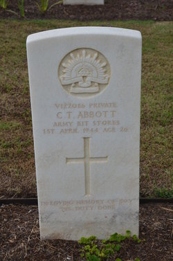 Pvt Clarence Thomas Abbott