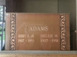 Nellie Mae <i>Nelson</i> Adams