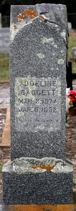 Addeline Addie <i>Winkler</i> Baggett