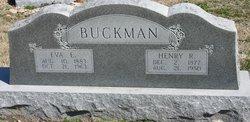 Henry Richard Buckman