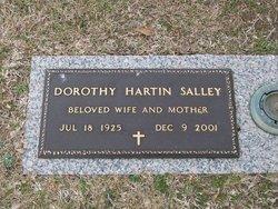 Dorothy Jane Dot <i>Hartin</i> Salley