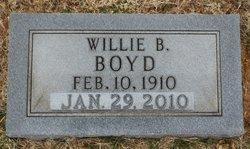 Willie Burdette <i>Little</i> Boyd