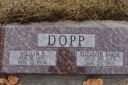 Elizabeth <i>Baker</i> Dopp