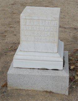 Lydia M Bartine