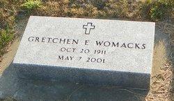 Gretchen E. Gertrude <i>Puckett (Scheibling)</i> Womacks