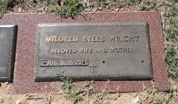 Mildred <i>Byers</i> Wright
