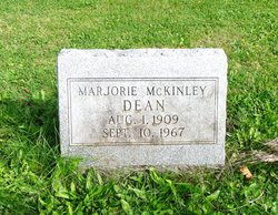 Marjorie Iris <i>McKinley</i> Dean