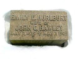 Emily E <i>Hurlburt</i> Howley