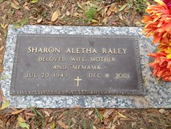 Sharon Aletha <i>Poss</i> Raley
