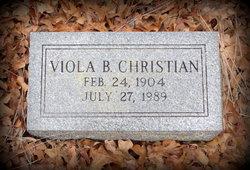 Viola <i>Ashby</i> Christian