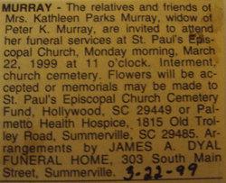 Kathleen <i>Parks</i> Murray